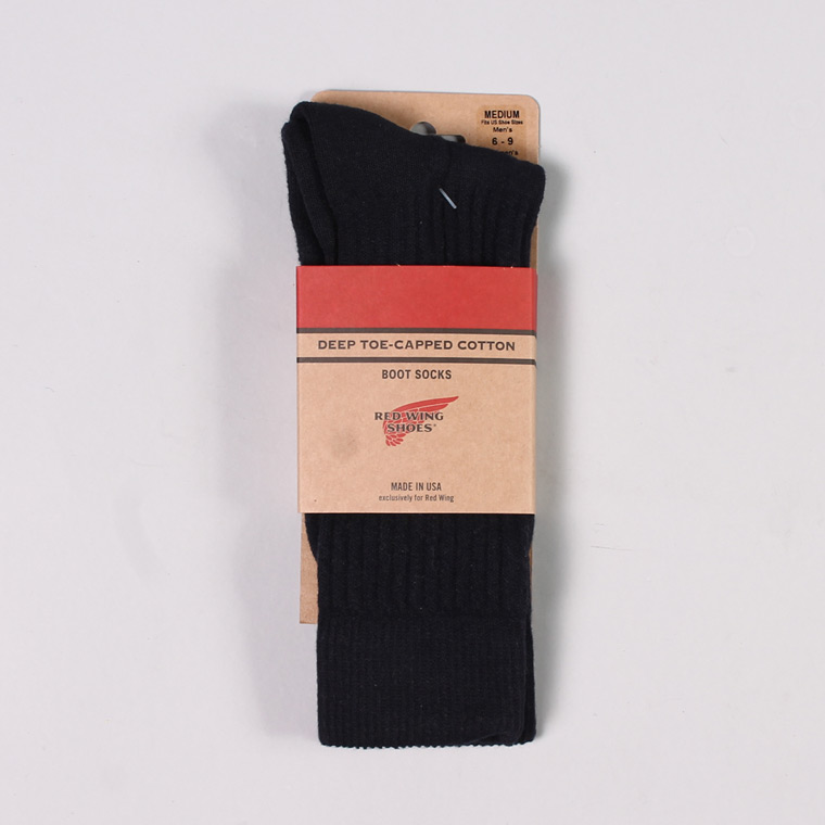 RED WING (レッドウイング)  DEEP TOE CAPPED BOOT SOCKS / NAVY