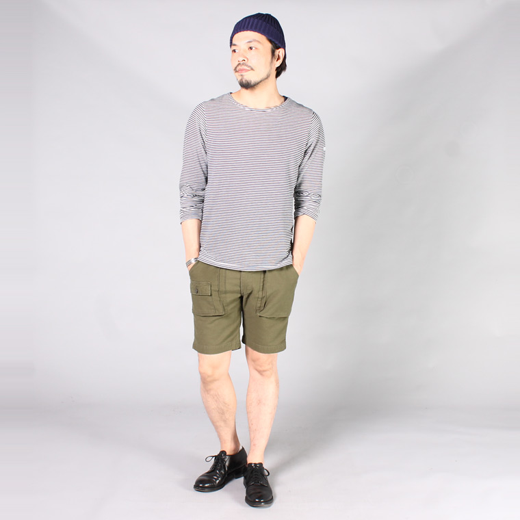 EMPIRE & SONS (エンパイア アンド サンズ)  BRITISH EXPEDITION SHORT - SOFT BACK SATIN