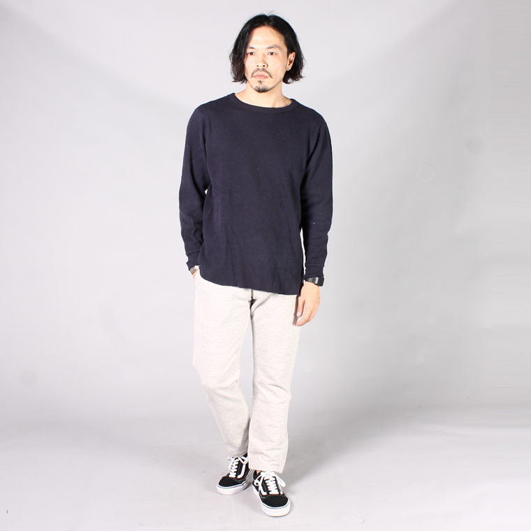 FELCO (フェルコ)  GYM PANT HEAVY WEIGHT TERRY / HEATHER GREY