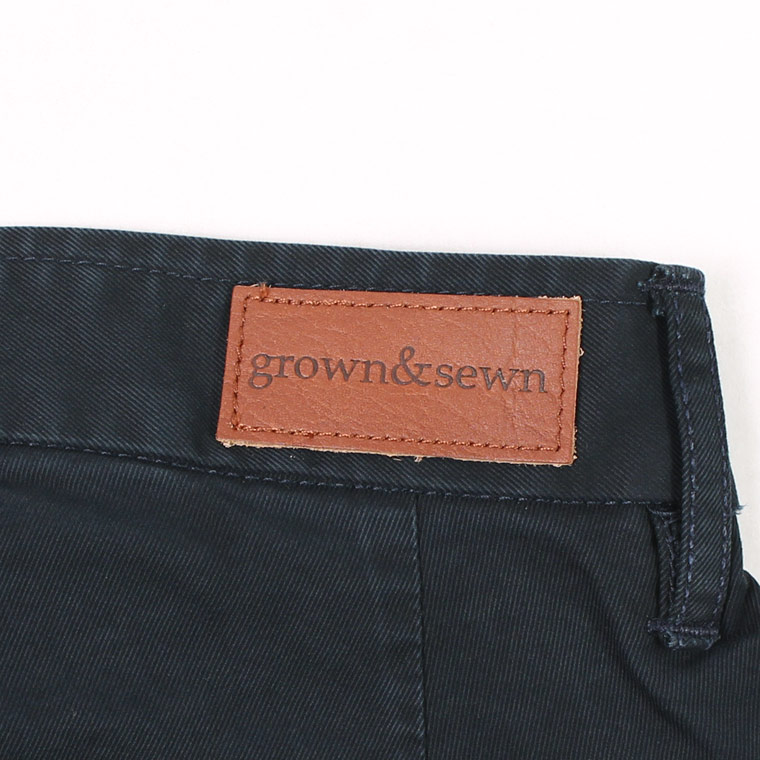 GROWN&SEWN (グロウン&ソーン)  INDEPENDENT - NAVY