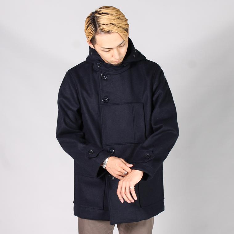 ARPENTEUR アーペントル,2017秋冬新作 ウールジャケット アウター ネイビー フランス製 メンズファッション フレンチワーク,通販 通信販売