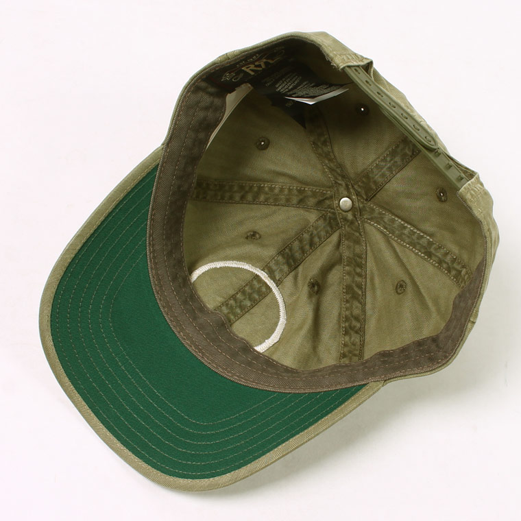 RRL Ralph Lauren (ダブル アールエル ラルフローレン)  GD BALL CAP - BREWSTER GREEN