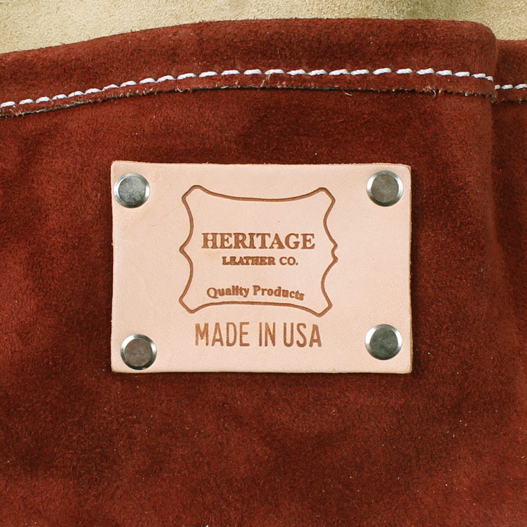 HERITAGE LEATHER (ヘリテイジレザー)  MULTI COLOR SUEDE 5POCKET NAIL AND TOOL POUCH - MULTI
