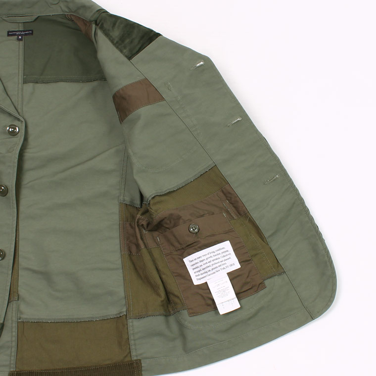 ENGINEERED GARMENTS(エンジニアドガーメンツ) BEDFORD JACKET DOUBLE CLOTH - OLIVE