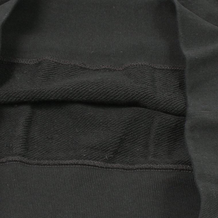 FELCO (フェルコ)  L/S RAGLAN SWEAT 12oz LT WEIGHT FRENCH TERRY - BLACK