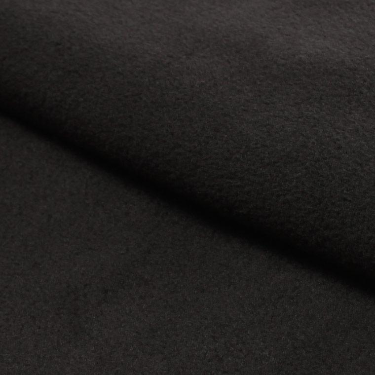 FELCO (フェルコ)  FLEECE V SNAP CARDIGAN - BLACK