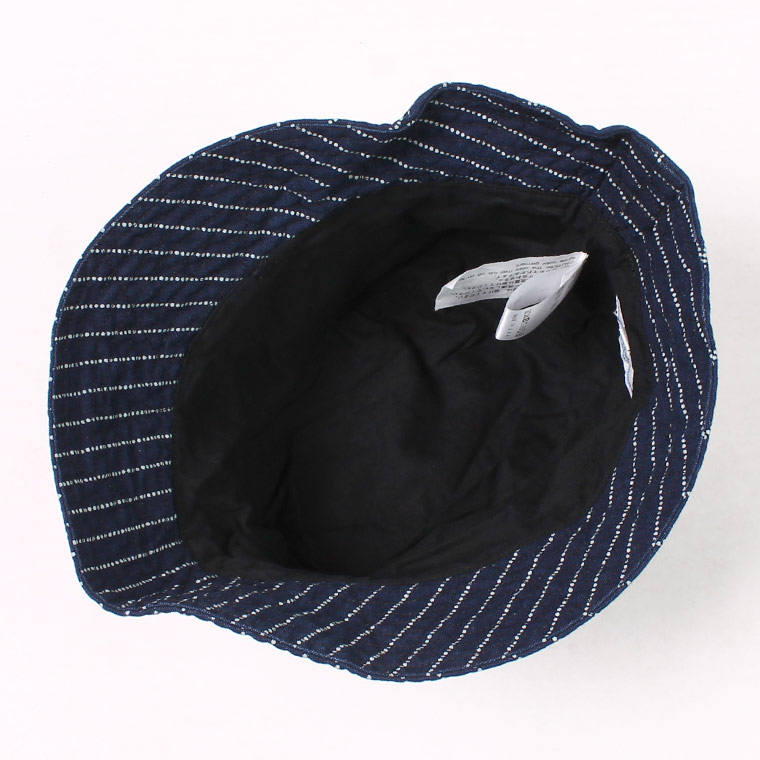 ENGINEERED GARMENTS(エンジニアドガーメンツ) BUCKET HAT WABASH ST. - INDIGO
