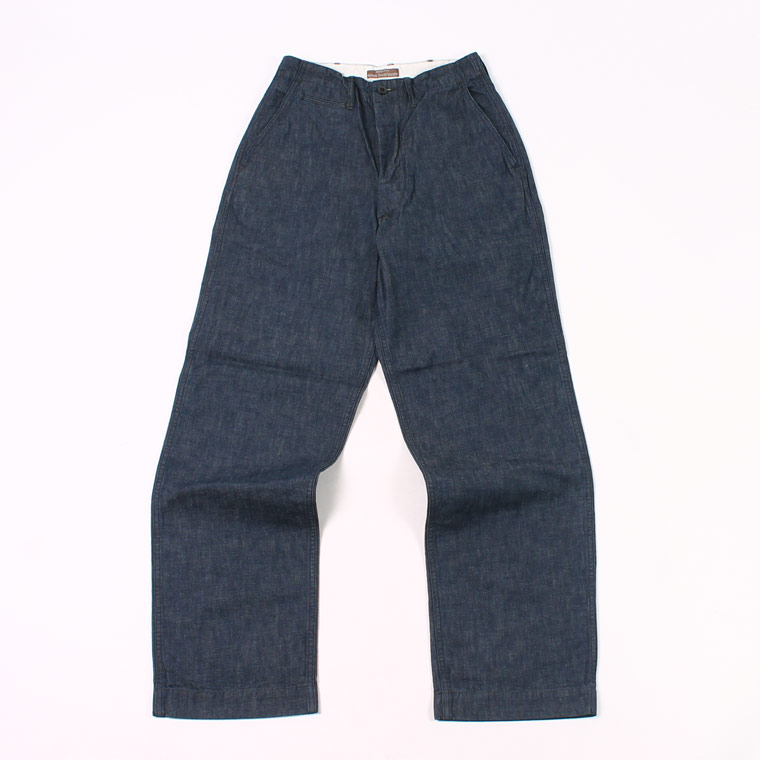 WORKERS (ワーカーズ) OFFICER TROUSER VINTAGE TYPE 2 10oz DENIM - INDIGO