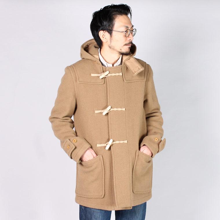 GLOVERALL グローバーオール ミディアム丈 Monty モンティ メンズ ダッフルコート イギリス製  メンズファッション,通販 通信販売