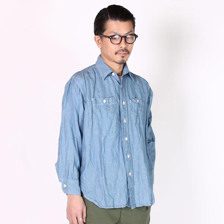 ENGINEERED GARMENTS エンジニアドガーメンツ メンズ EF148 ワークシャツ シャンブレー メンズファッション,通販 通信販売