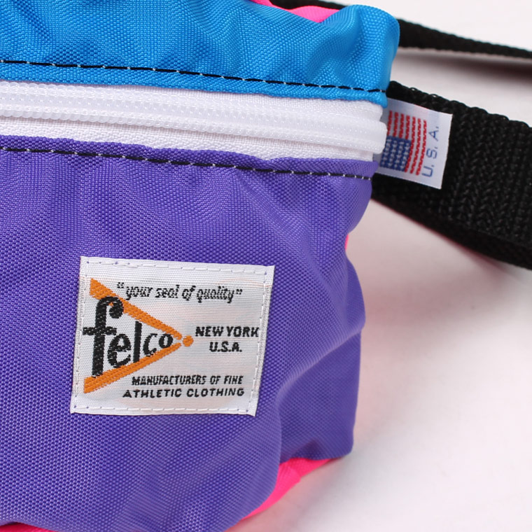 FELCO (フェルコ)  MADE IN USA FANNY PACK - PURPLE CRAZY
