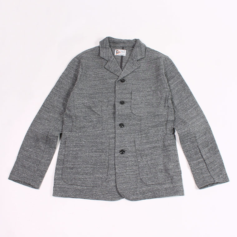 FELCO (フェルコ)  SPORTS TEAM JACKET SUPER HARD JERSEY - HEATHER CHARCOAL