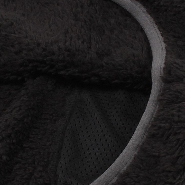 FELCO (フェルコ)  PLEASANT PILE FLEECE CREW - BLACK