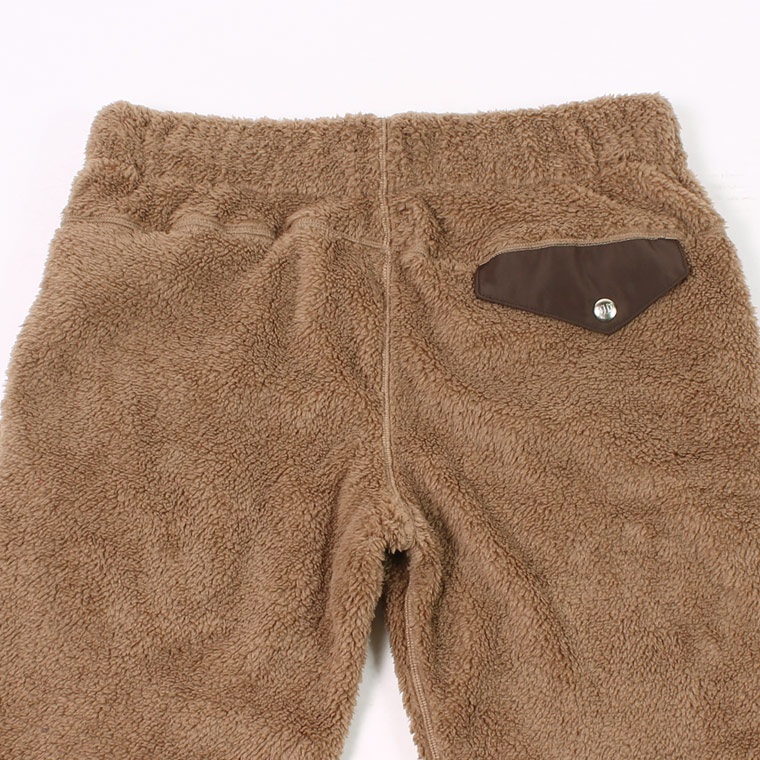 FELCO (フェルコ)  PLEASANT PILE FLEECE PANT - TAN