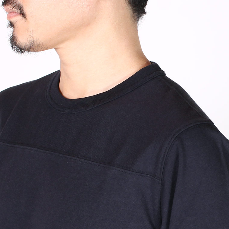 FELCO (フェルコ)  HALF SLEEVE FOOT BALL T OPEN END JERSEY U.S.COTTON - NAVY