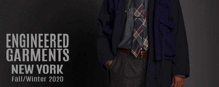 ENGINEERED GARMENTS エンジニアドガーメンツ エンジニアードガーメンツ,2020fw 2020秋冬新作,通販 通信販売,名古屋 メンズファッション セレクトショップ Explorer エクスプローラー