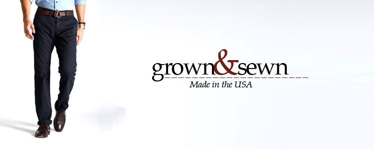 grown&sewn,グロウン&ソーン,通販 通信販売