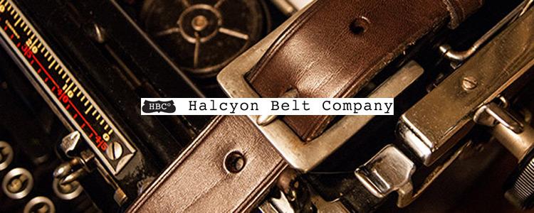 HALCYON BELT COMPANY,ハルシオンベルトカンパニー,メンズ レザーベルト