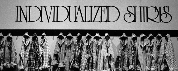 INDIVIDUALIZED SHIRTS,インディビジュアライズドシャツ,通販 通信販売