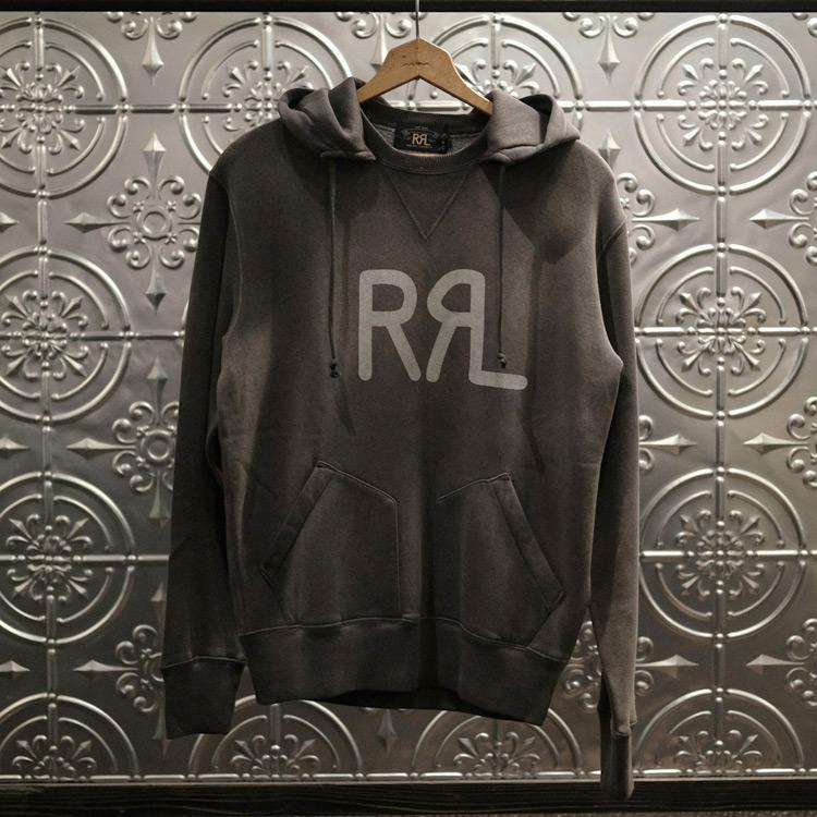 RRL Ralph Lauren (ダブル アールエル ラルフローレン) HOOD L/S KNIT - BLACK explorer 通販 名古屋