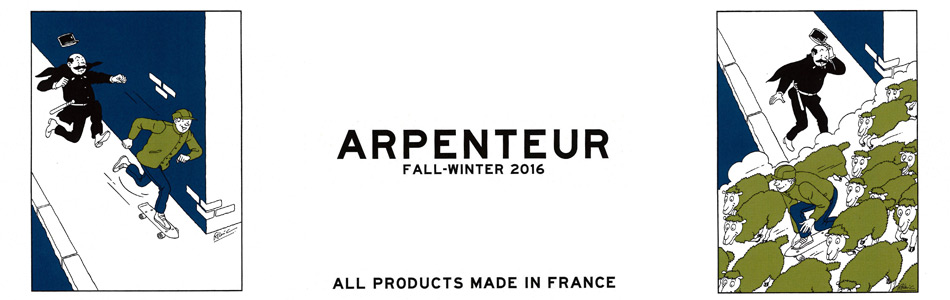 ARPENTEUR アーペントル,メンズファッション 2016秋冬新作,通販 通信販売