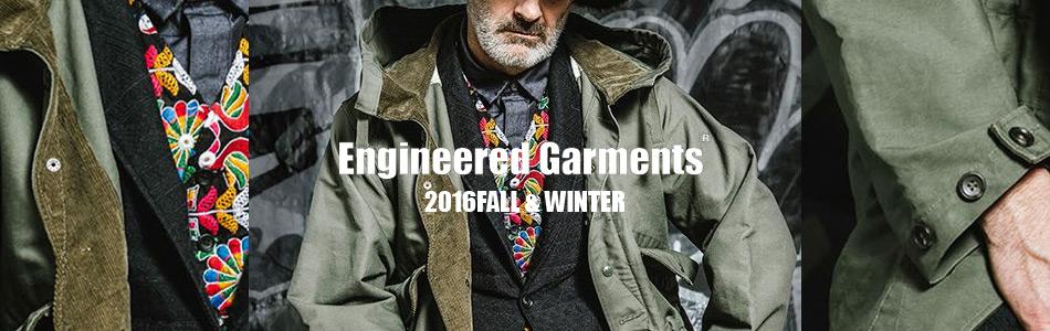 ENGINEERED GARMENTS,エンジニアドガーメンツ エンジニアードガーメンツ,2016秋冬新作,通販 通信販売
