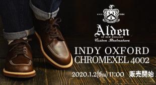 ALDEN オールデン,4002 インディオックスフォードシューズ,名古屋 メンズファッション セレクトショップ Explorer エクスプローラー,通販 通信販売